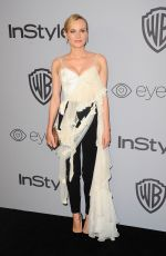DIANE KRUGER at Instyle and Warner Bros Golden Globes After-party in Los Angeles 01/07/2018