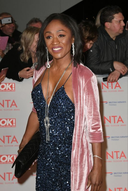 DIANE PARISH at National Television Awards in London 01/23/2018