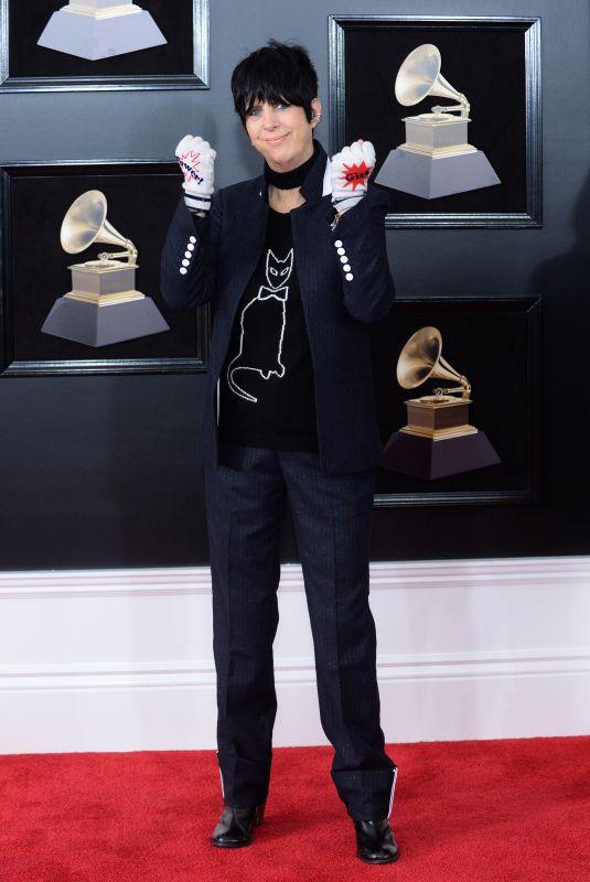 DIANE WARREN at Grammy 2018 Awards in New York 01/28/2018