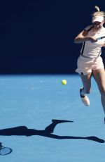 DONNA VEKIC at Australian Open Tennis Tournament in Melbourne 01/18/2018