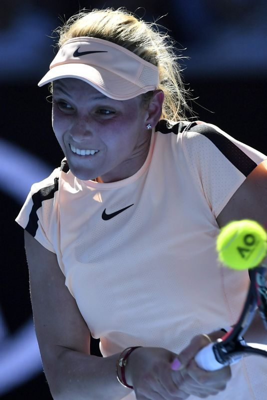 DONNA VEKIC at Australian Open Tennis Tournament in Melbourne 01/18/2018