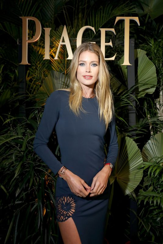 DOUTZEN KROES at Piaget Dinner at SIHH 2018 in Geneva 01/15/2018