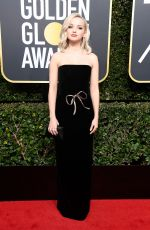 DOVE CAMERON at 75th Annual Golden Globe Awards in Beverly Hills 01/07/2018