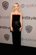DOVE CAMERON at Instyle and Warner Bros Golden Globes After-party in Los Angeles 01/07/2018