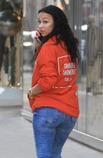 DRAYA MICHELE Out Shopping on Rodeo Drive in Beverly Hills 01/05/2018
