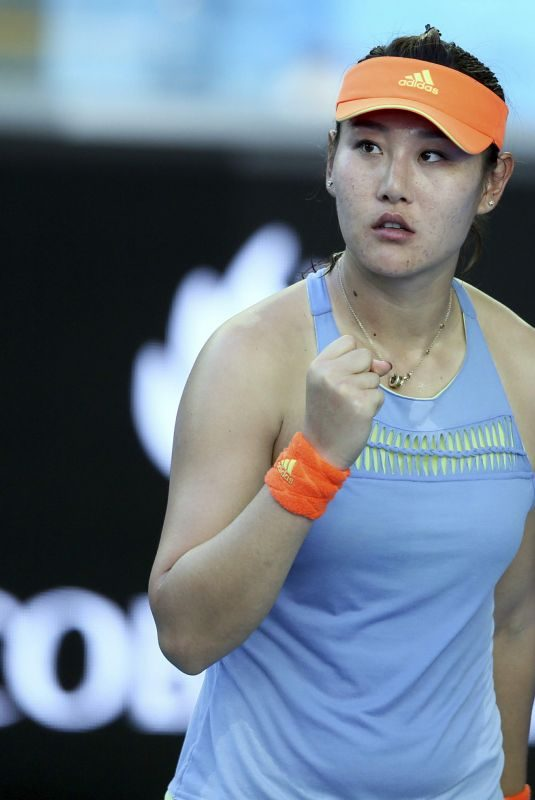 DUAN YINGYING at Australian Open Tennis Tournament in Melbourne 01/17/2018