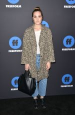 EDEN BROLIN at 2018 Freeform Summit in Hollywood 01/18/2018