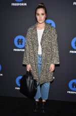 EDEN BROLIN at 2018 Freeform Summit in Hollywood 01/18/2018