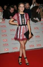 EDEN TAYLOR-DRAPER at National Television Awards in London 01/23/2018