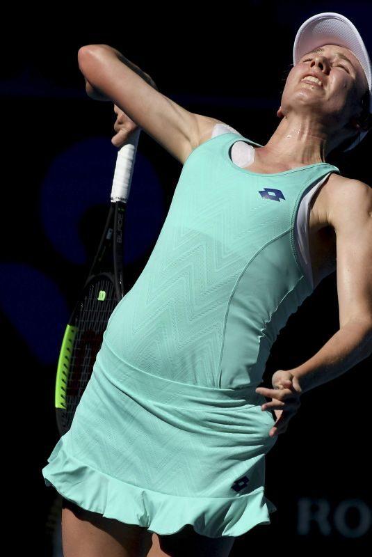 EKATERINA ALEXANDROVA at Australian Open Tennis Tournament in Melbourne 01/18/2018