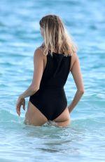 ELENA PERMINOVA in Swimsuit on Vacation in Tulum 01/05/2018
