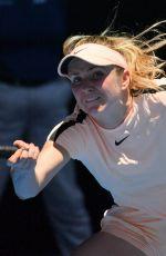 ELINA SVITOLINA at Australian Open Tennis Tournament in Melbourne 01/17/2018