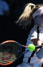 ELINA SVITOLINA at Australian Open Tennis Tournament in Melbourne 01/19/2018
