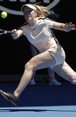 ELINA SVITOLINA at Australian Open Tennis Tournament in Melbourne 01/23/2018