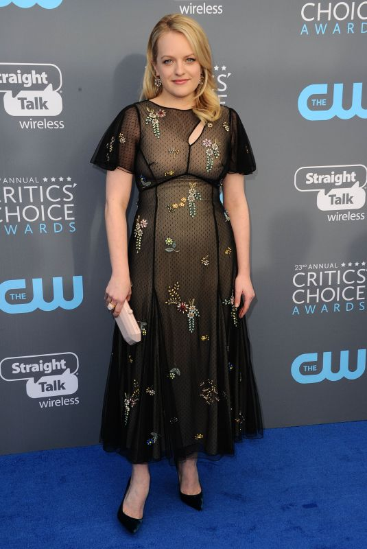 ELISABETH MOSS at 2018 Critics