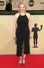 ELISABETH MOSS at Screen Actors Guild Awards 2018 in Los Angeles 01/21/2018
