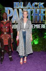 ELIZABETH BANKS at Black Panther Premiere in Hollywood 01/29/2018