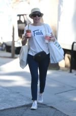 ELIZABETH BANKS Out and About in Studio City 01/28/2018