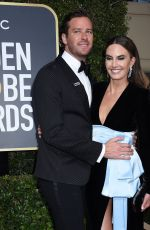 ELIZABETH CHAMBERS at 75th Annual Golden Globe Awards in Beverly Hills 01/07/2018