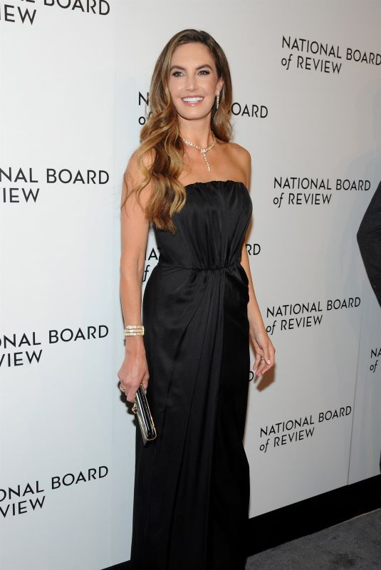 ELIZABETH CHAMBERS at National Board of Review Annual Awards Gala in New York 01/09/2018