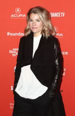 ELIZABETH CHOMKO at What They Had Premiere at Sundance Film Festival 01/21/2018