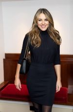 ELIZABETH HURLEY at Song of the Earth Ballet Opening Night in London 01/09/2018