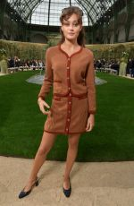 ELLA PURNELL at Chanel Show at Spring/Summer 2018 Haute Couture Fashion Week in Paris 01/23/2018