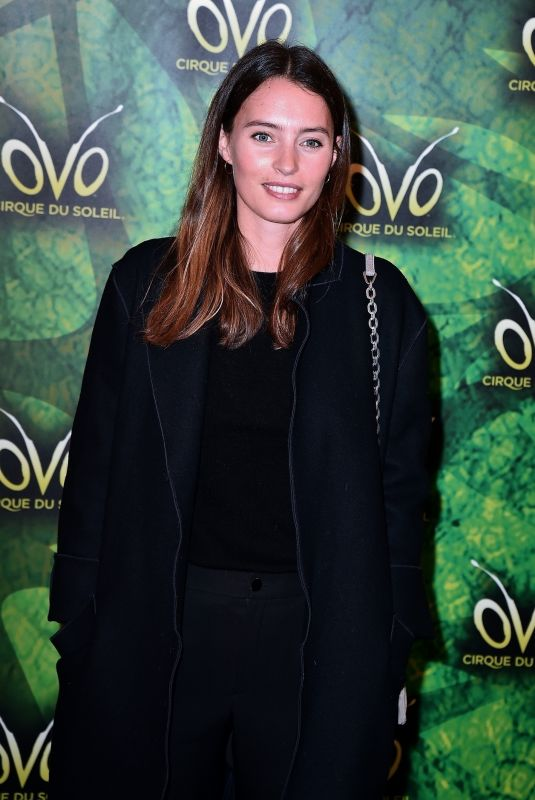 ELLA WOODWARD at Cirque Du Soleil Ovo Premiere in London 01/10/2018