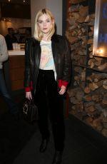 ELLE FANNING at Deadline Studio at Sundance Film Festival 01/20/2018