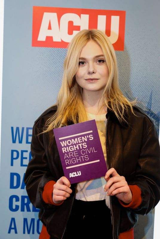 ELLE FANNING at Indiewire Sundance Studio in Park City 01/20/2018