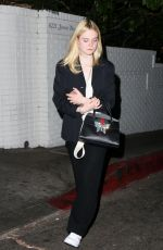ELLE FANNING at New Year