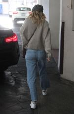 ELLEN POMPEO Leaves E Baldi Ristorante in Beverly Hills 01/23/2018