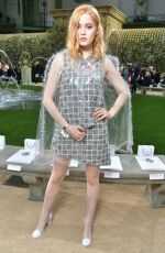 ELLIE BAMBER at Chanel Show at Spring/Summer 2018 Haute Couture Fashion Week in Paris 01/23/2018