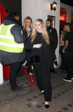 ELLIE GOULDING Night Out in London 01/25/2018