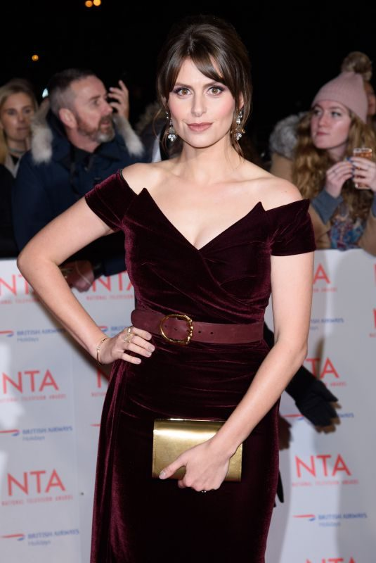 ELLIE TAYLOR at National Television Awards in London 01/23/2018