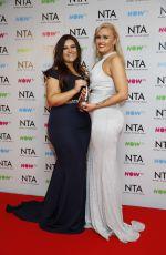 ELLIE WARNER at National Television Awards in London 01/23/2018