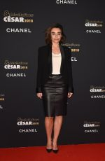 ELODIE BOUCHEZ at Cesar Revelations 2018 at Le Petit Palais in Paris 01/15/2018