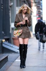 ELSA HOSK Out and About in New York 01/27/2018