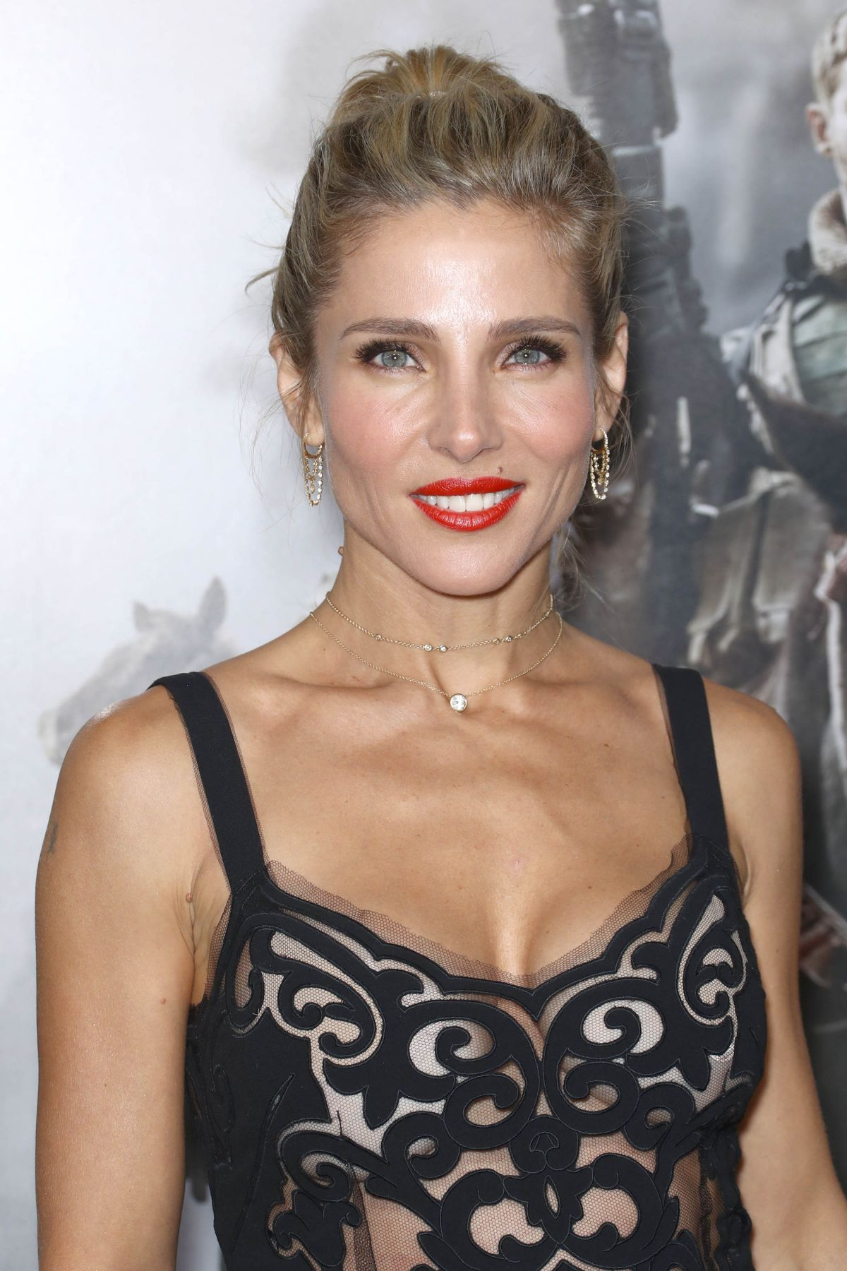 Elsa Bettwäsche 100x135 : elsa pataky at 12 strong premiere in new york 01 16 2018 ~ A.2002-acura-tl-radio.info Haus und Dekorationen