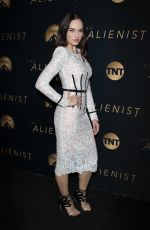 EMANUELA POSTACCHINI at The Alienist Premiere in Los Angeles 01/11/2018
