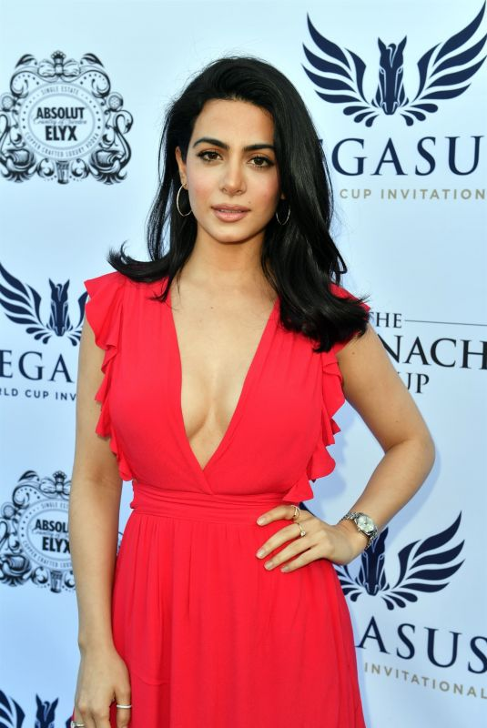 EMERAUDE TOUBIA at $16 Million Pegasus World Cup Invitational in Florida 01/27/2018