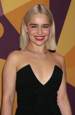 EMILIA CLARKE at HBO's Golden Globe Awards After-party in Los Angeles 01/07/2018