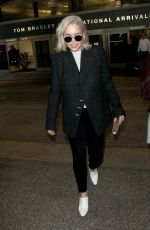EMILIA CLARKE at LAX Airport in Los Angeles 01/02/2018