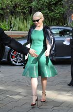 EMILIA CLARKE Leaves Four Seasins Hotel in Beverly Hills 01/05/2018