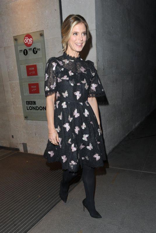 EMILIA FOX Leaves BBC Studios in London 01/15/2018