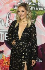 EMILIE ULLERUP at Hhallmark Channel All-star Party in Los Angeles 01/13/2018