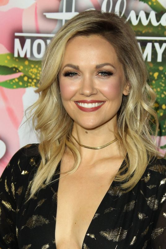 EMILIE ULLERUP at Hallmark Channel All-star Party in Los Angeles 01/13/2018