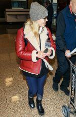 EMILY BETT RICKARDS at Salt Lake City International Airport in Park City 01/18/2018