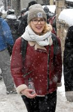EMILY BETT RICKARDS Out and About in Park City 01/25/2018