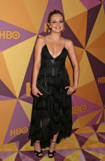 EMILY MEADE at HBO's Golden Globe Awards After-party in Los Angeles 01/07/2018